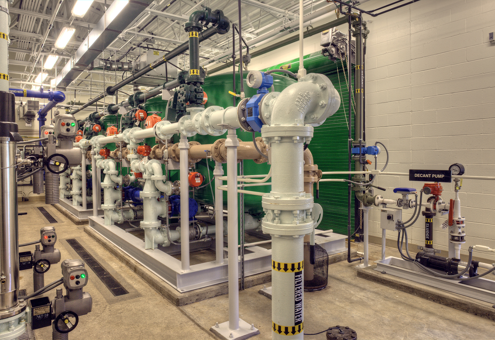 New Water Treatment Plant, Indian Lake, NY